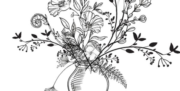 Überraschungs Blumenstrauß