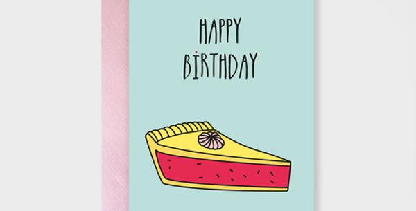 Geburtstag - Happy Birthday Cake