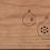Thumbnail: Holzpost Grußkarte -Kugeln