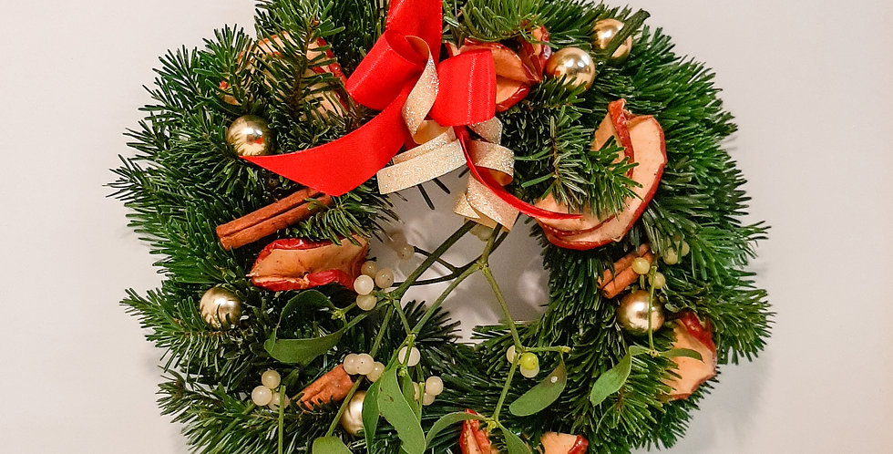 Türkranz Weihnachtlich