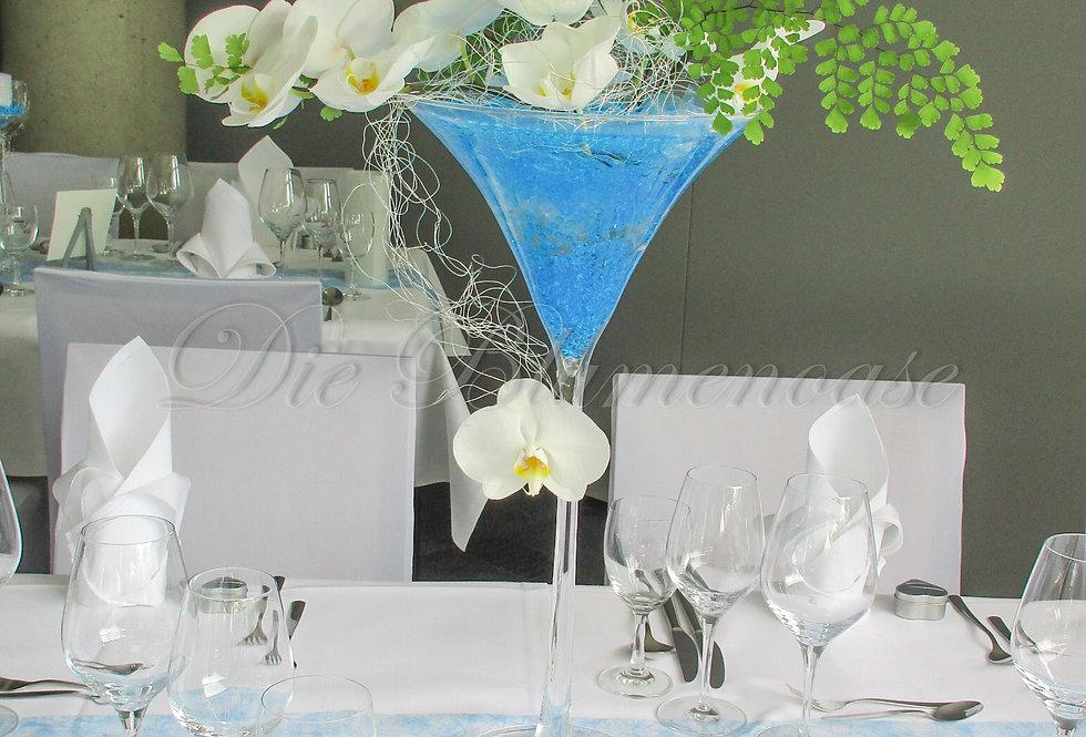 Glasvase auf Stiel Martiniglas- Nr.132