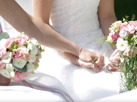 Sabrina & Iris eine zauberhafte Hochzeit