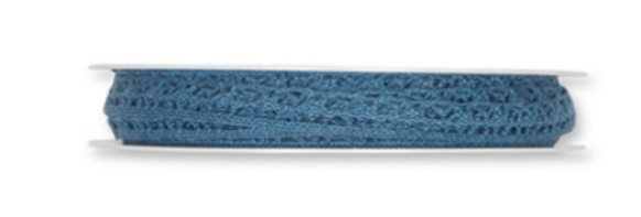 Häkelspitze Var.2 dunkelblau
