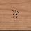 Thumbnail: Holzpost Grußkarte -Happy Birthday