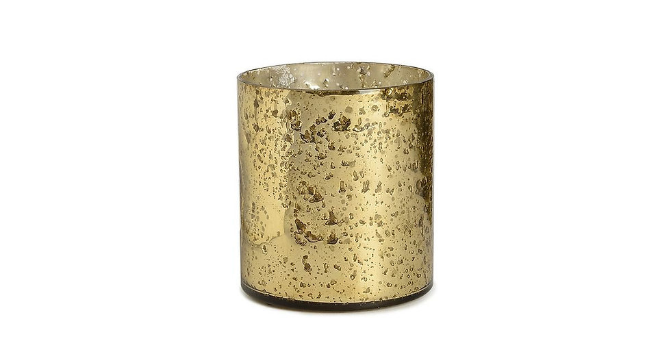Glas gold meliert - Nr.49