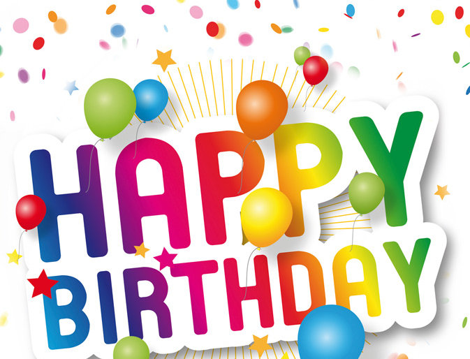 Geburtstag - Happy Birthday