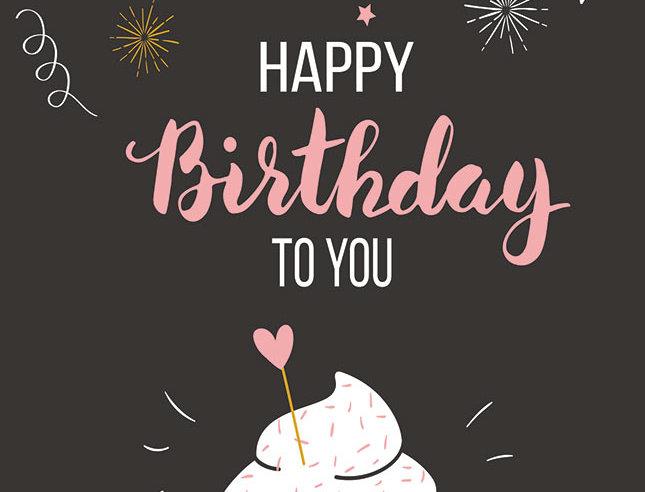 Geburtstag - Happy Birthday to you
