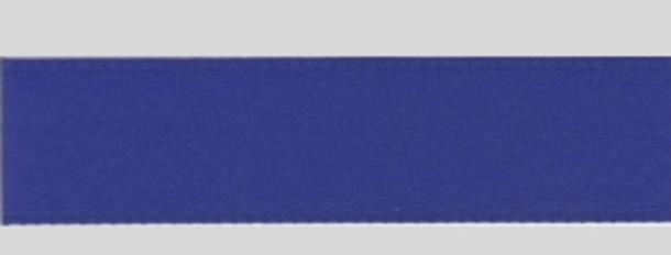 Band Satin Blau