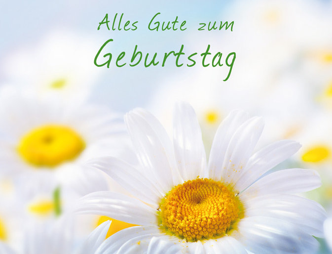 Geburtstag - Freude & Gelassenheit