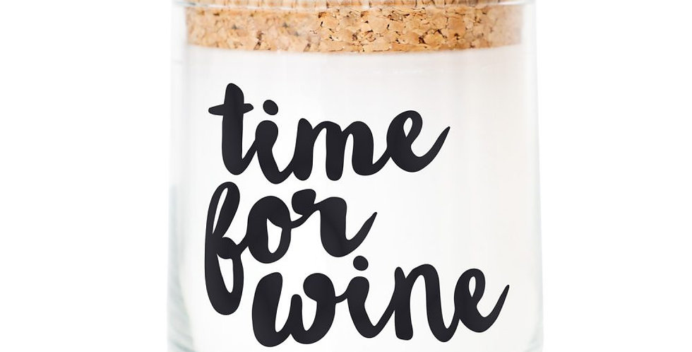 Feel Good Candle - Duftkerze -Time for Wine