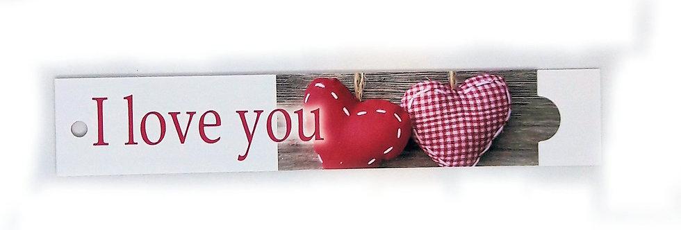 Mini Karte I love you