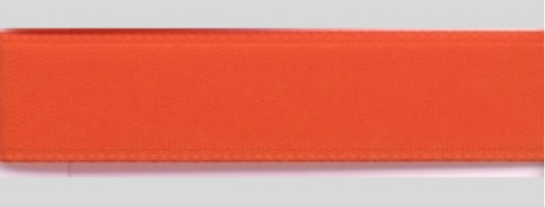 Band Satin orange dunkel