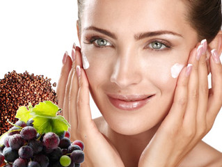 Grape seed oil for health and beauty