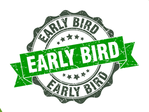 Junior EARLY BIRD Registration Opens