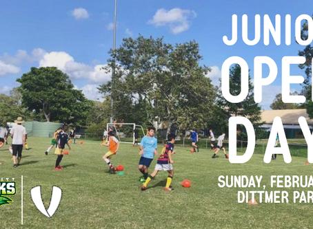2019 Junior Open Day