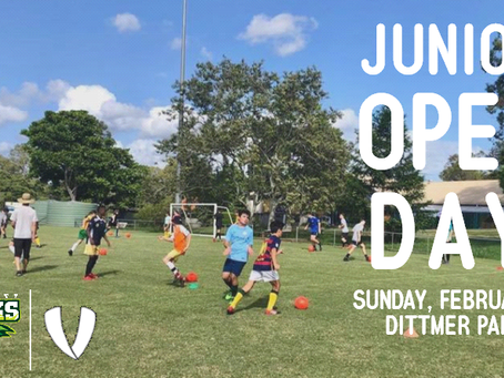 2019 Junior Open Day
