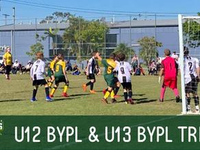 U12 & U13 BYPL Trials for 2021