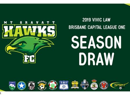 Football Brisbane Release 2019 Vilic Law Capital League Schedule