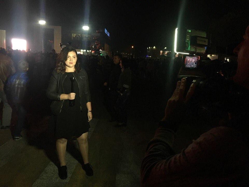 Юный журналист Анастасию Юхневич и ее репортаж с дня города.