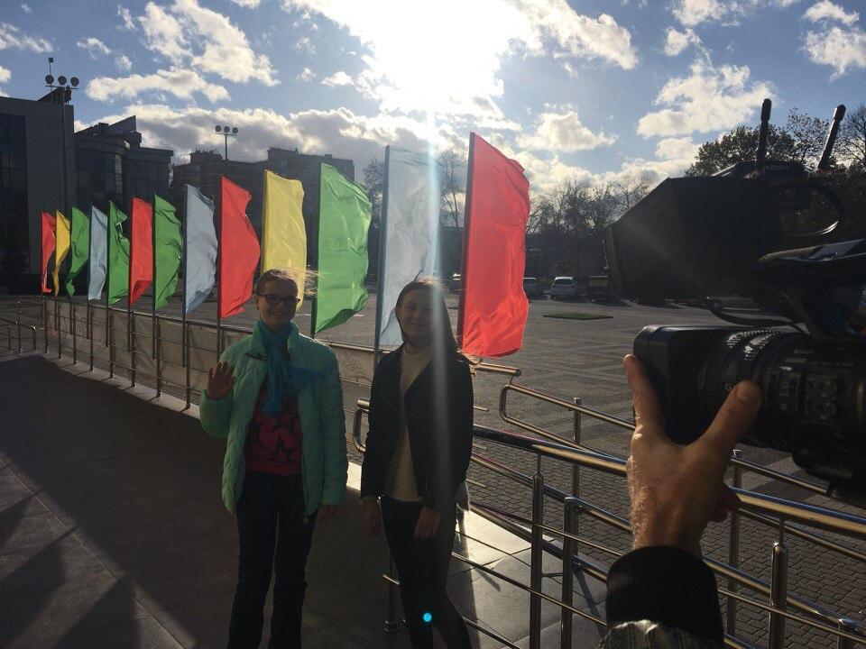 Ира и Вася снимают рубрику Кино.ру