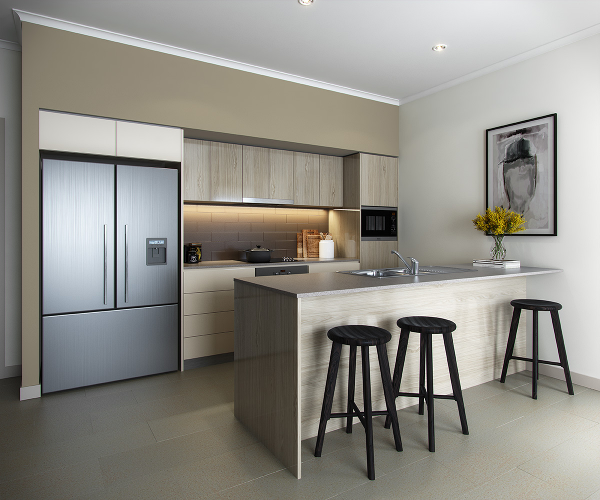 Chermside - Hamilton kitchen