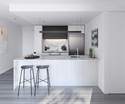 Fortitude Valley - Henley kitchen