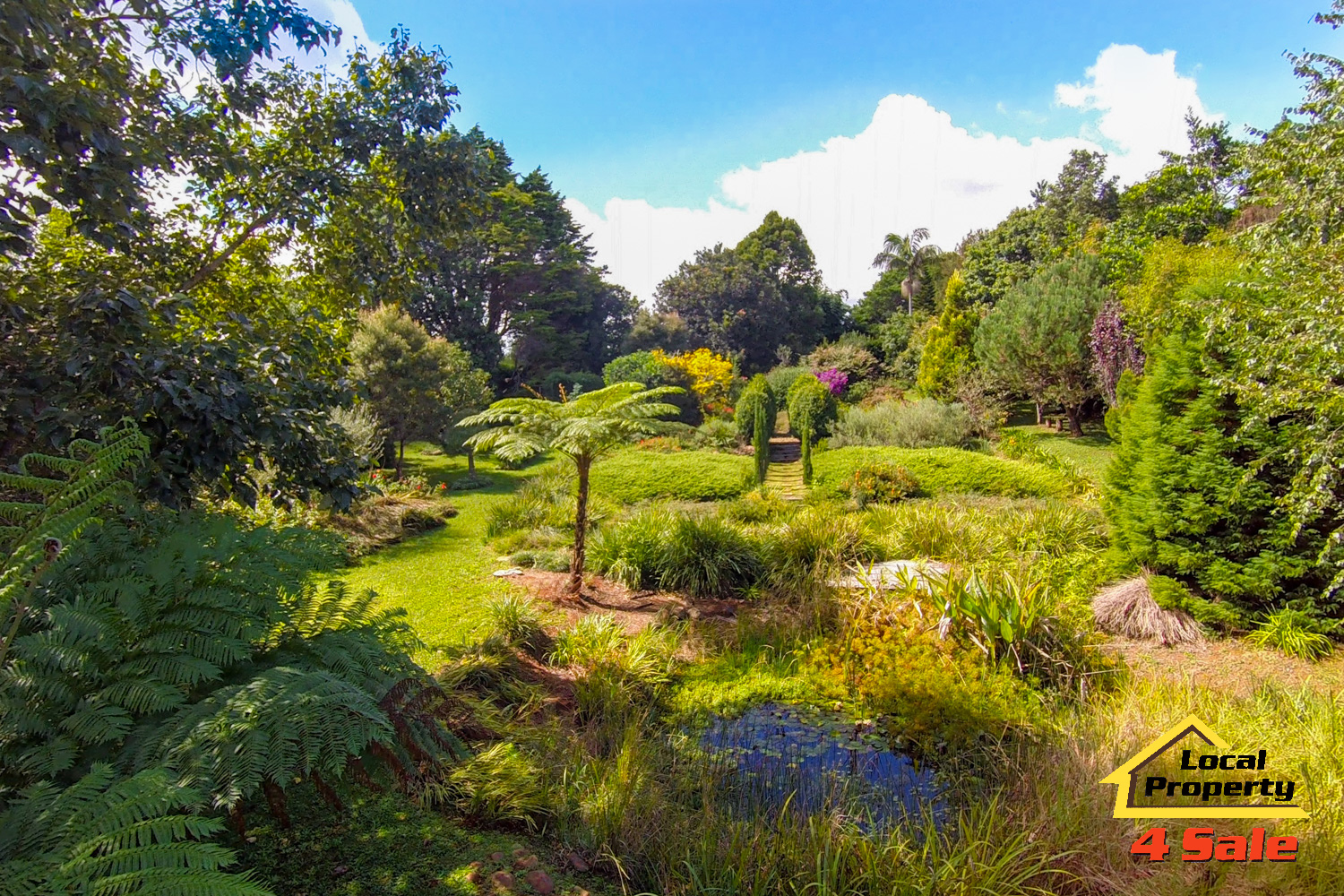 182 Long Rd Tamborine Mountain - Front Gardens 2