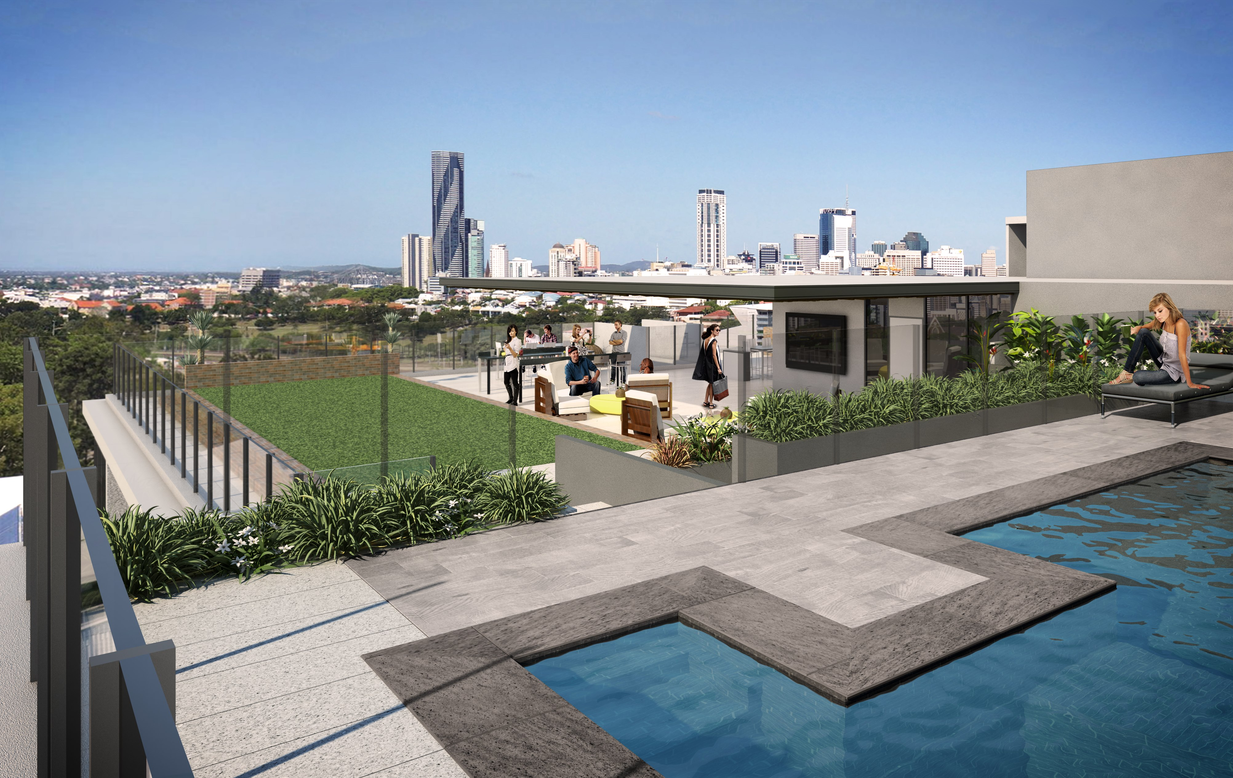 Kelvin Grove - Zest roof top