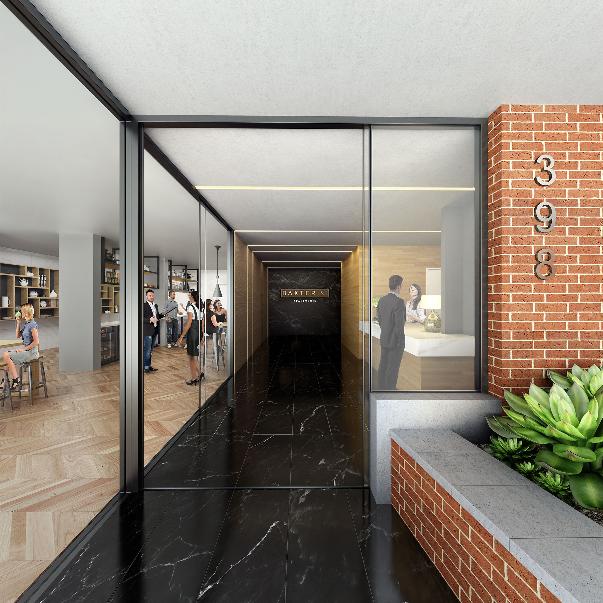 Fortitude Valley - Baxter foyer