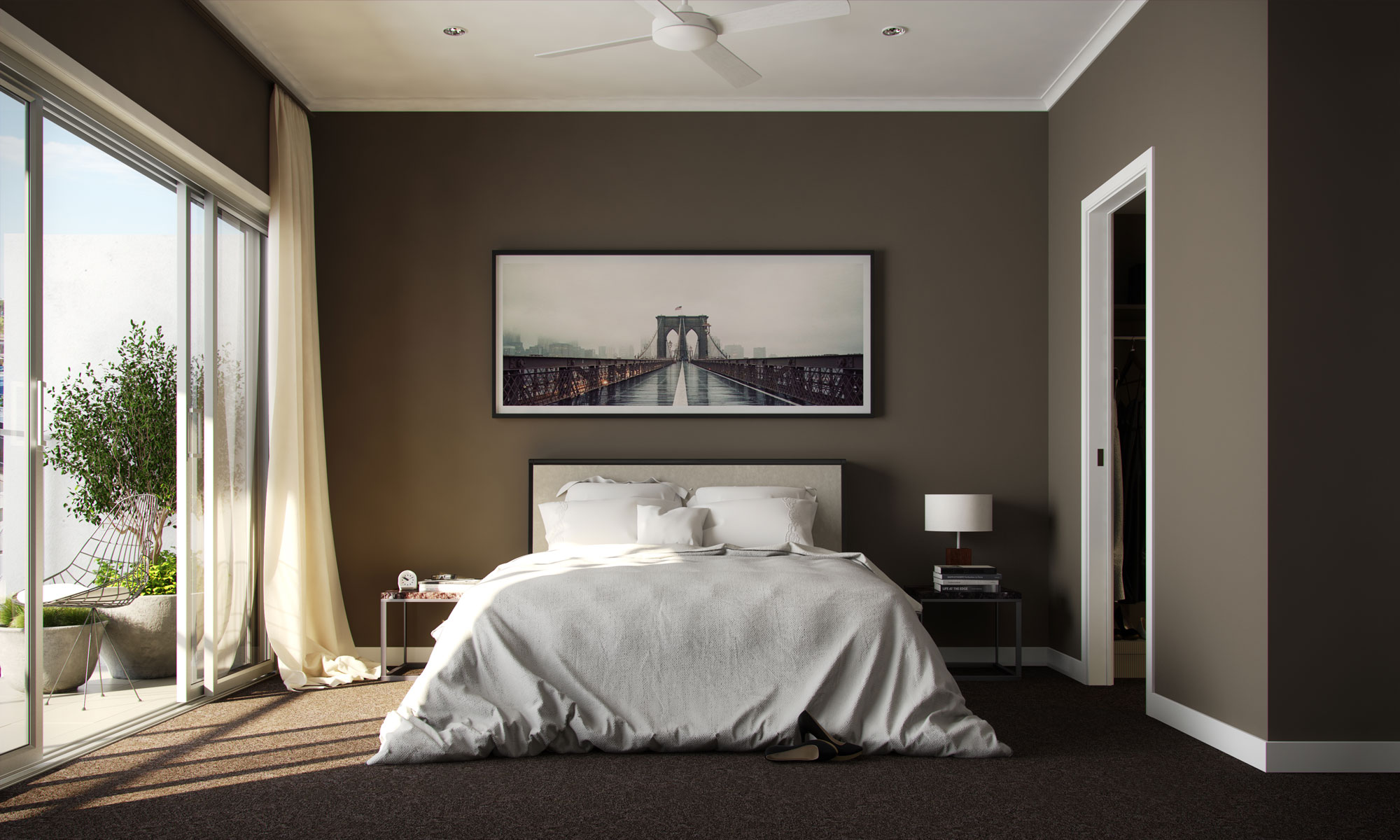 Chermside - Hamilton bed