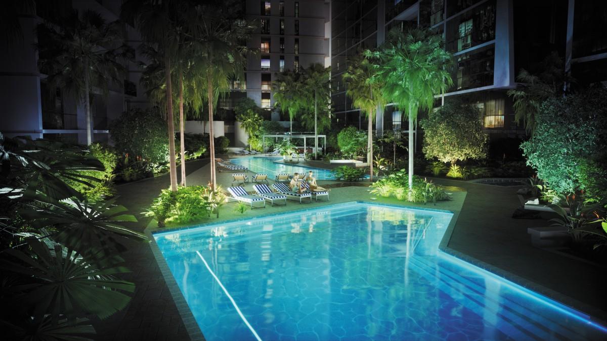 Newstead - Laguna pool