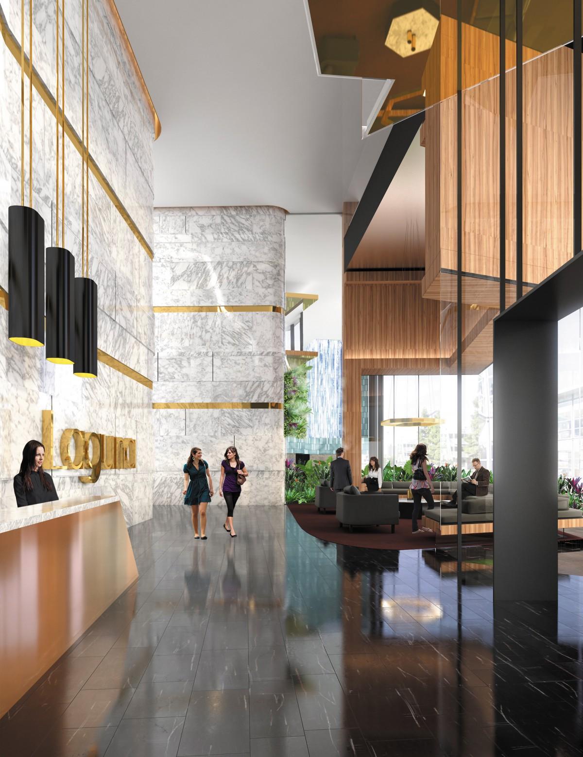 Newstead - Laguna foyer