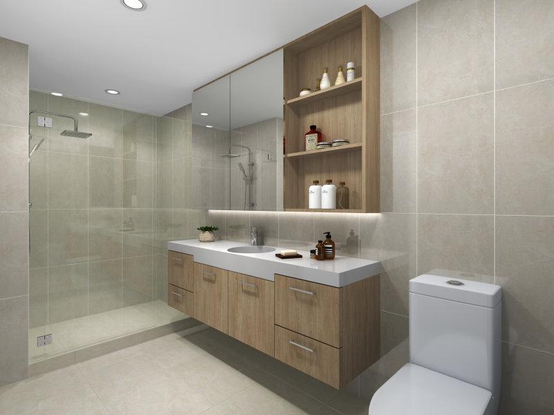 Wooloongabba - Palazzo bathroom