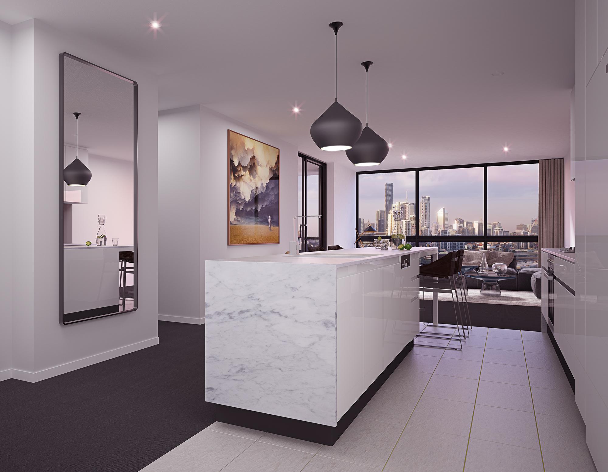 Albion - Hudson kitchen