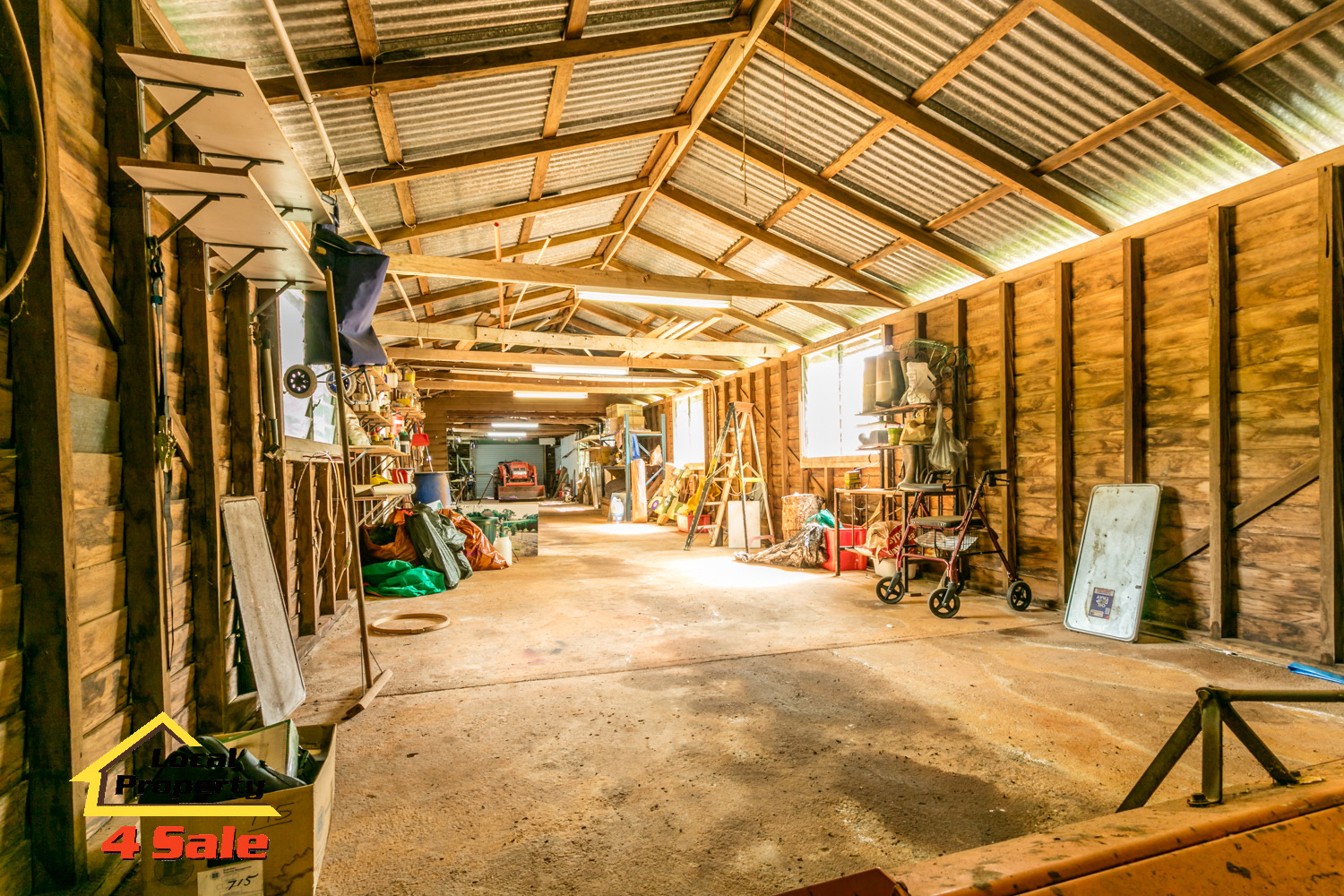182 Long Rd Tamborine Mountain - Work shed