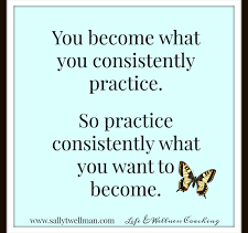 What are you practising today?