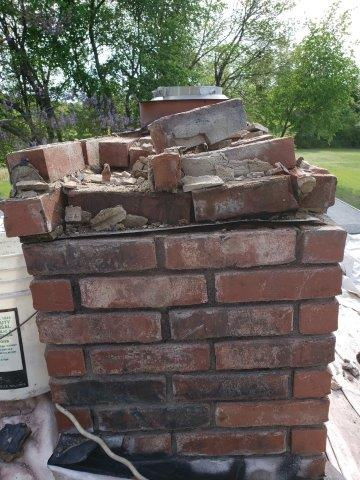 Before Masonry Repair