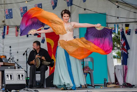 Tara Yasmin fan veils Belly dancer with House of Maqam