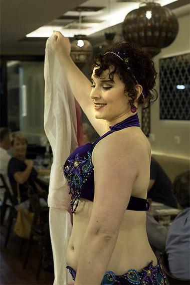 Belly Dancer restaurant Tara Yasmin