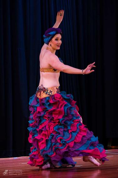 Tara Yasmin Wollongong Belly Dance Festival