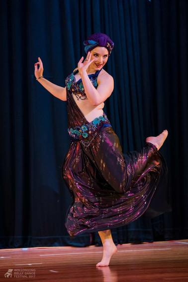 Belly dancer fun Tara Yasmin