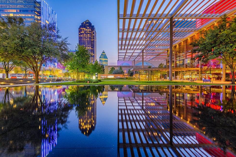 Dallas, Texas, USA downtown cityscape at