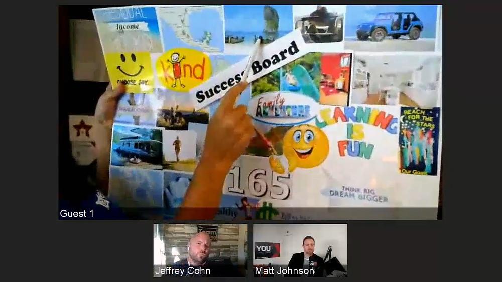 """Bettina's """"Success Board"""":"""
