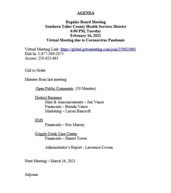 Agenda - 2.February 2021.JPG