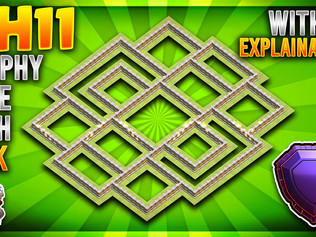 TOP 3 AMAZING TH11 BASE DESIGNS WITH LINKS