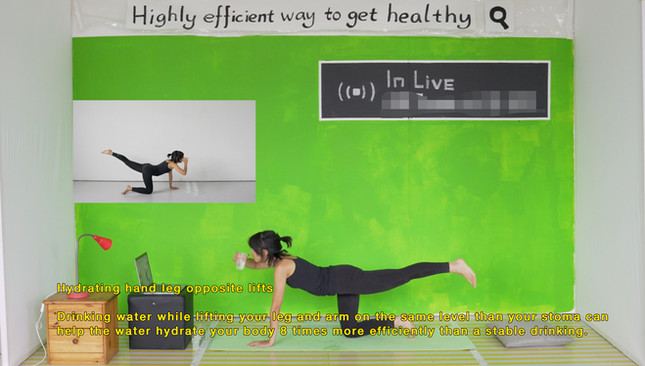 4/9/12:00 Xinyi Fox Hu HIGHLY EFFICIENT WAY TO GET HEALTHY
