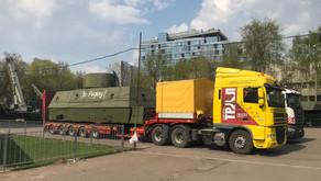 Вернулись домой «Бронеплощадка артиллерийская и зенитная бронепоезда «Красновосточник»