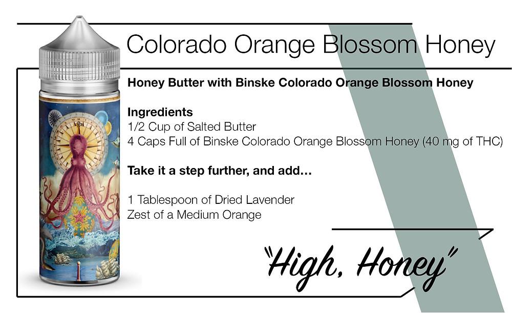 Binske Cannabis Infused Honey