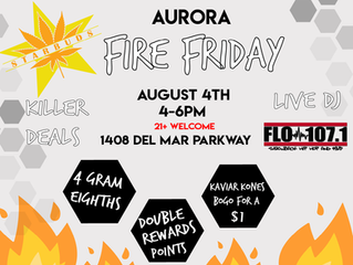 FIRE FRIDAY : AURORA