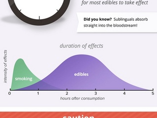 Marijuana Edibles 101 - An Infographic